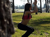 Yoga chick surprise - Yoga chick surprise