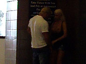 Blondie gives BJ on the street corner - Blondie gives BJ on the street corner