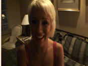 Tristan - Short haired blonde sucks and fucks boyfriend´s dick on camera!