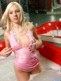 Wide eyed and bushy tailed ashley is one cute teen nubile hottieblonde and topless