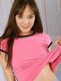 Wow check out this cute new fresh teen nubile charlie lift up her shirt no bra
