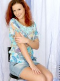 Cute jitka with an innocents smile showing her luscious tight body on cam