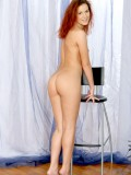 Jitka strip off her panties shows lovely fucking ass