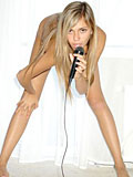Here comes the nubile diva katrina singing and posing naked