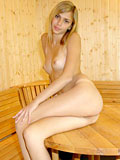 Teen temptress katrina expose her luscious body on top of the table