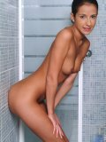 Such a sweet teen nicole right after a refreshing shower she gets naked