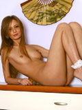 Seductive Nubile Orina loves having someone to do that titillating rabbit drill for her needy pussy