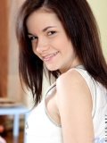 Super cute teenie summer puts her panties in her mouth and stretches them rowr