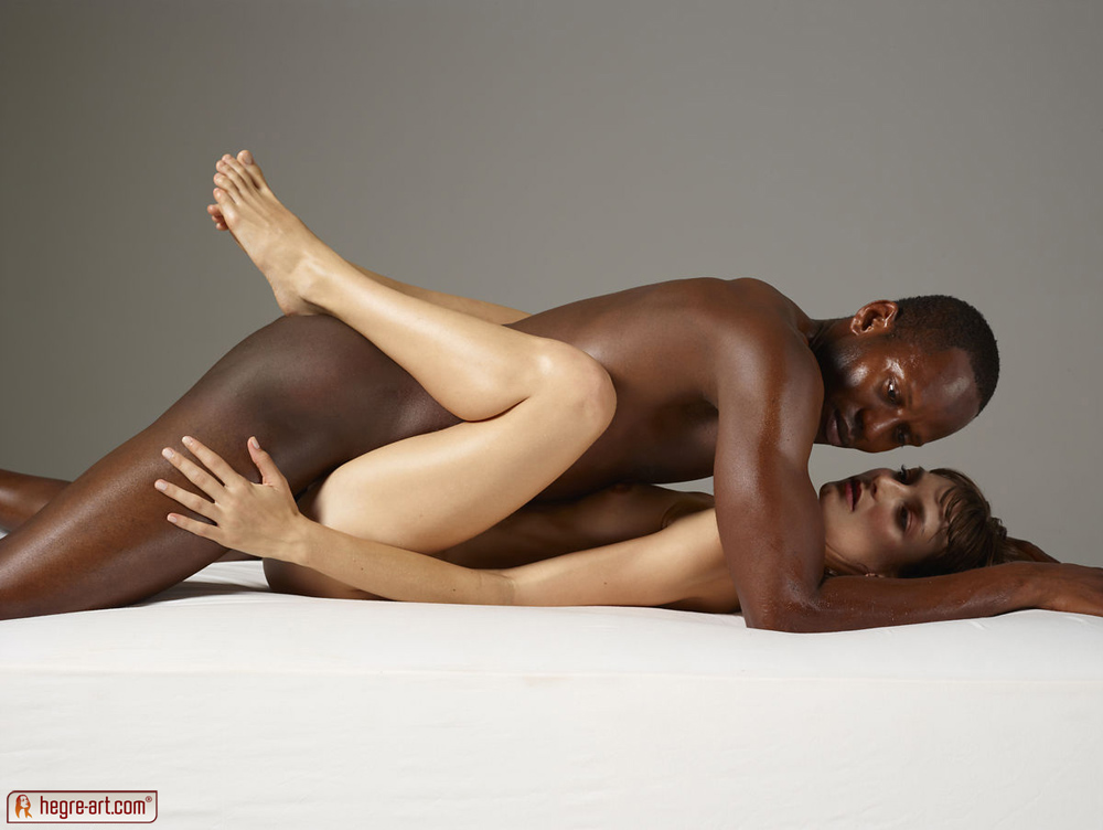 Erotic massage hegre art interracial blowjob