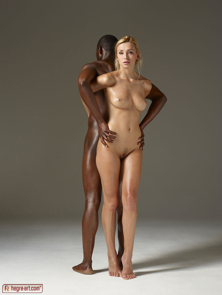 Black man and white woman naked pictures