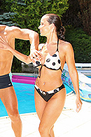 Cindy Dollar Pictures in Euro Pool Party