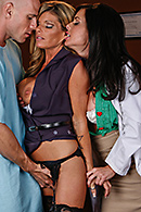 Kristal Summers, Veronica Avluv Pictures in Veronica Loves to Play Doctor