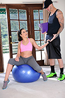 Allie Haze Pictures in Allies Personal Workout