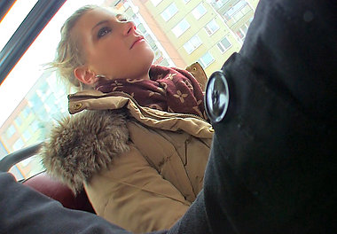 adele in Sexy Bus Blonde  - Mofosnetwork.com