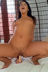 Olivia Hot in Flesh Colored Fuck Toy - Mofosnetwork.com