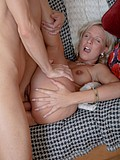 Dirty blonde penetrated