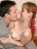 Teen Girl Loves Her 1st Cock