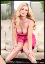 Tyler Faith is pretty in her hot pink dress�and even sexier out of it!