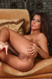 The seductive and sexy Madison Ivy puts on a hot striptease.