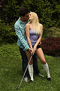 Mia Malkova Gets Drilled by Her Golf Instructor